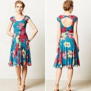 """RARE Anthropologie """"Quinby Dress"""" sz M, EUC"""
